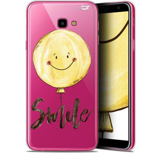 "Coque Gel Samsung Galaxy J4 Plus J4+ (6"") Extra Fine Motif -  Smile Baloon"