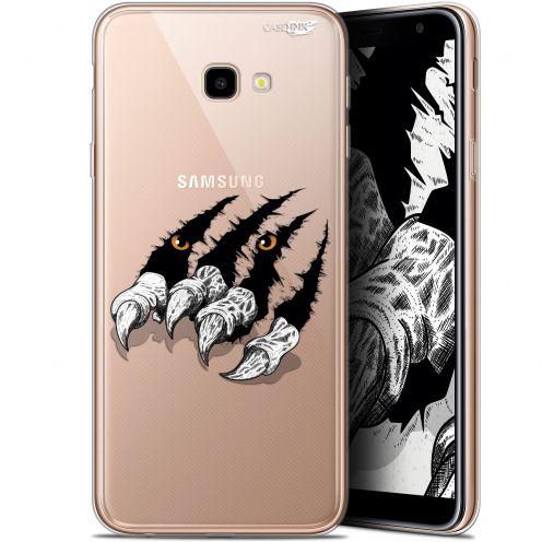 """Coque Gel Samsung Galaxy J4 Plus J4+ (6"""") Extra Fine Motif -  Les Griffes"""