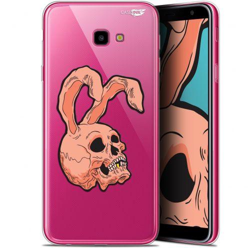 "Coque Gel Samsung Galaxy J4 Plus J4+ (6"") Extra Fine Motif -  Rabbit Skull"