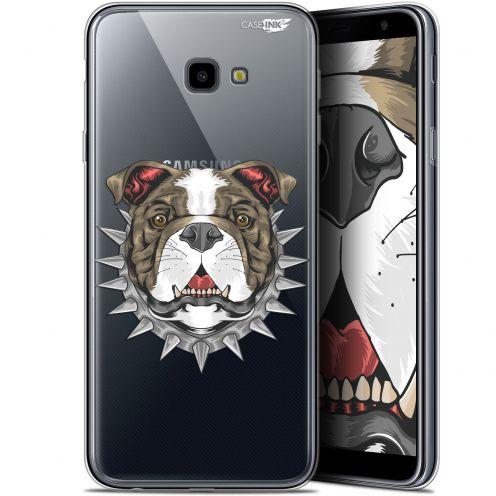 """Coque Gel Samsung Galaxy J4 Plus J4+ (6"""") Extra Fine Motif -  Doggy"""