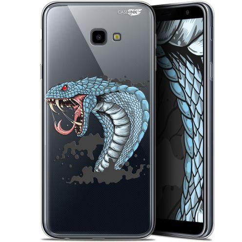 "Coque Gel Samsung Galaxy J4 Plus J4+ (6"") Extra Fine Motif -  Cobra Draw"