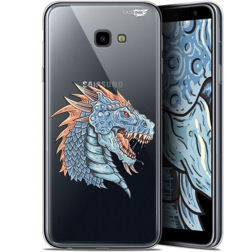 """Coque Gel Samsung Galaxy J4 Plus J4+ (6"""") Extra Fine Motif -  Dragon Draw"""