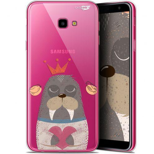 "Coque Gel Samsung Galaxy J4 Plus J4+ (6"") Extra Fine Motif -  Sketchy Walrus"