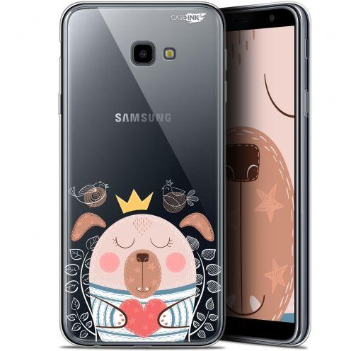 """Coque Gel Samsung Galaxy J4 Plus J4+ (6"""") Extra Fine Motif -  Sketchy Dog"""