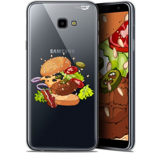 "Coque Gel Samsung Galaxy J4 Plus J4+ (6"") Extra Fine Motif -  Splash Burger"