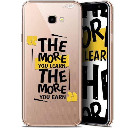 """Coque Gel Samsung Galaxy J4 Plus J4+ (6"""") Extra Fine Motif -  The More You Learn"""
