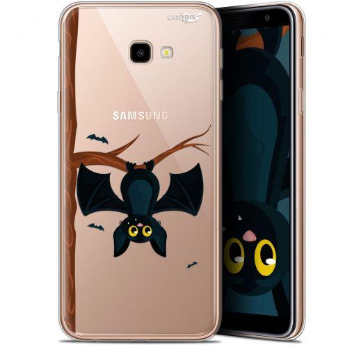 "Coque Gel Samsung Galaxy J4 Plus J4+ (6"") Extra Fine Motif -  Petite Chauve Souris"