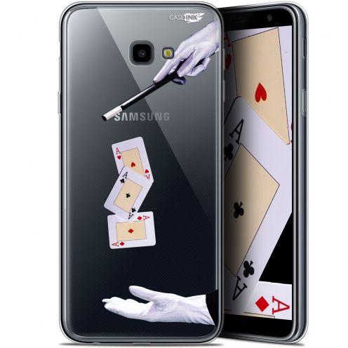 """Coque Gel Samsung Galaxy J4 Plus J4+ (6"""") Extra Fine Motif -  Cartes Magiques"""