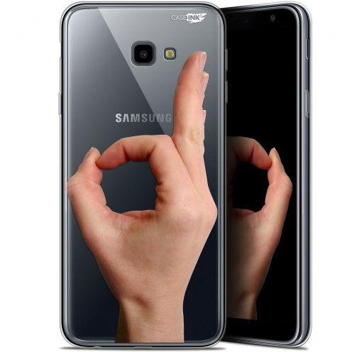 """Coque Gel Samsung Galaxy J4 Plus J4+ (6"""") Extra Fine Motif -  Le Jeu du Rond"""