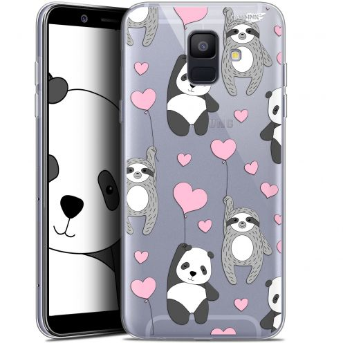 "Coque Gel Samsung Galaxy A6 2018 (5.45"") Extra Fine Motif -  Panda'mour"