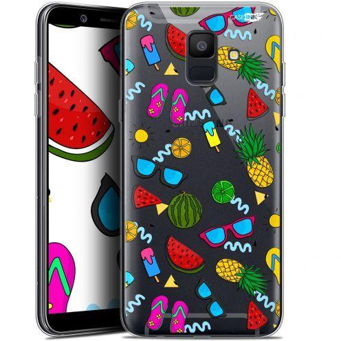 "Coque Gel Samsung Galaxy A6 2018 (5.45"") Extra Fine Motif -  Summers"