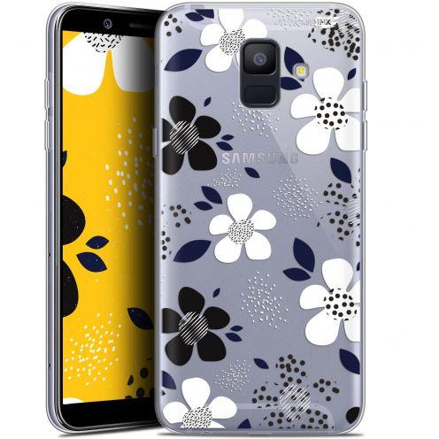 "Coque Gel Samsung Galaxy A6 2018 (5.45"") Extra Fine Motif -  Marimeko Style"