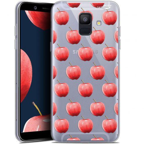 "Coque Gel Samsung Galaxy A6 2018 (5.45"") Extra Fine Motif -  Cerises"