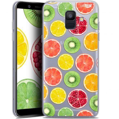 """Coque Gel Samsung Galaxy A6 2018 (5.45"""") Extra Fine Motif -  Fruity Fresh"""