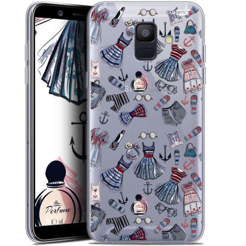 """Coque Gel Samsung Galaxy A6 2018 (5.45"""") Extra Fine Motif -  Fashionista"""