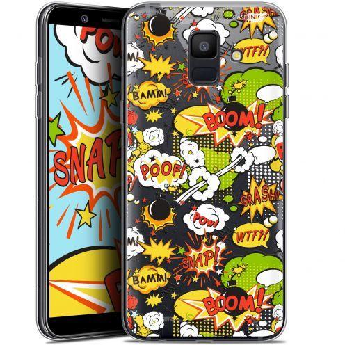 "Coque Gel Samsung Galaxy A6 2018 (5.45"") Extra Fine Motif -  Bim Bam Boom"