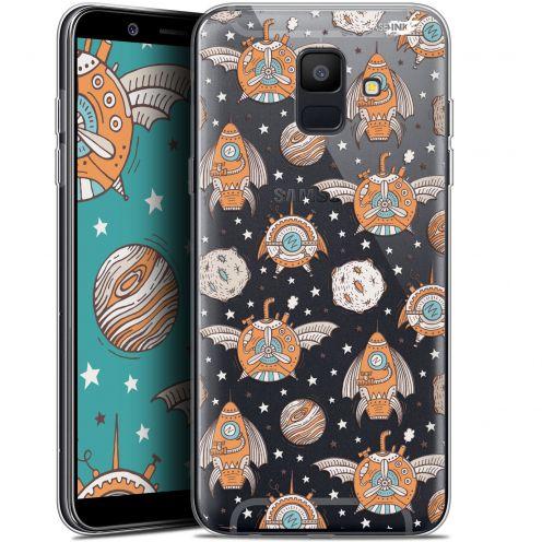 "Coque Gel Samsung Galaxy A6 2018 (5.45"") Extra Fine Motif -  Punk Space"