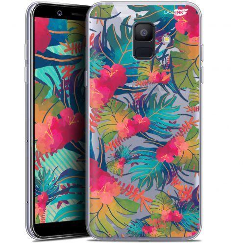 "Coque Gel Samsung Galaxy A6 2018 (5.45"") Extra Fine Motif -  Couleurs des Tropiques"