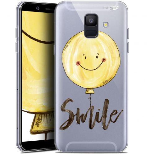 "Coque Gel Samsung Galaxy A6 2018 (5.45"") Extra Fine Motif -  Smile Baloon"