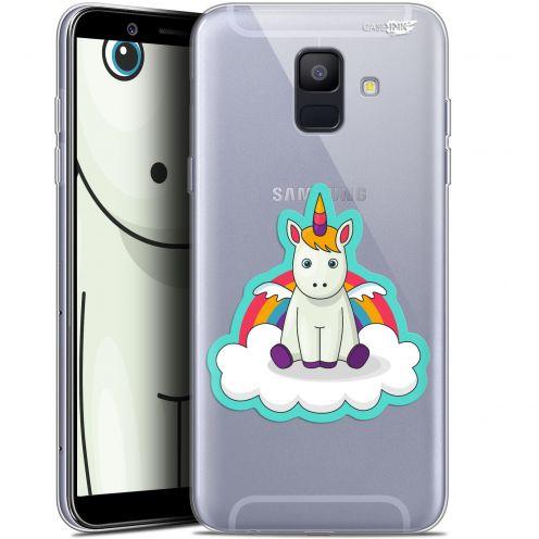 """Coque Gel Samsung Galaxy A6 2018 (5.45"""") Extra Fine Motif -  Bébé Licorne"""
