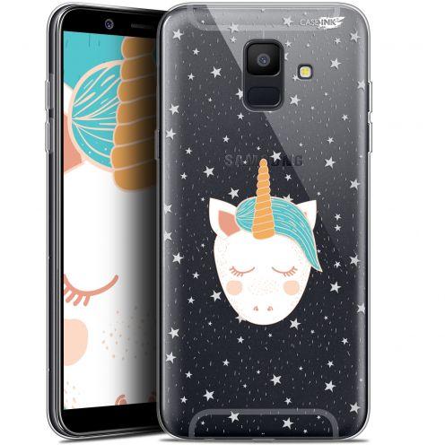 """Coque Gel Samsung Galaxy A6 2018 (5.45"""") Extra Fine Motif -  Licorne Dors"""