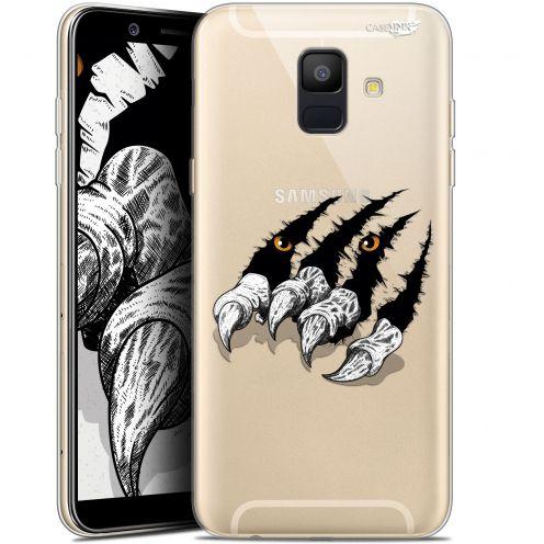 "Coque Gel Samsung Galaxy A6 2018 (5.45"") Extra Fine Motif -  Les Griffes"