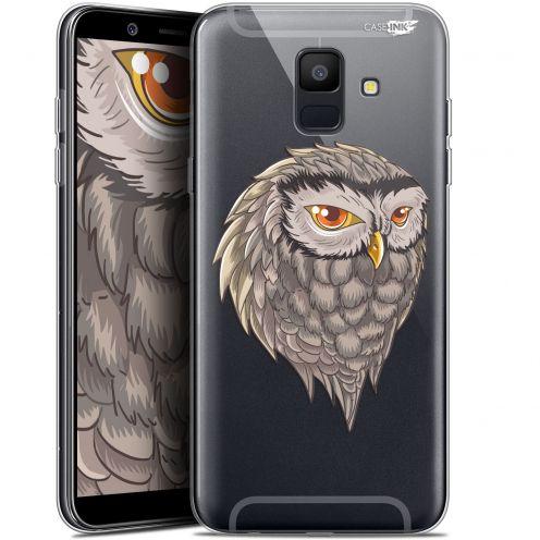 """Coque Gel Samsung Galaxy A6 2018 (5.45"""") Extra Fine Motif -  Hibou Draw"""