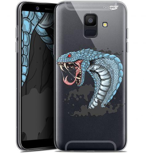 """Coque Gel Samsung Galaxy A6 2018 (5.45"""") Extra Fine Motif -  Cobra Draw"""