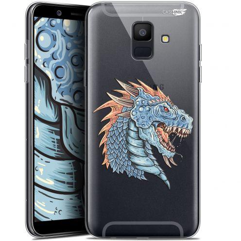 """Coque Gel Samsung Galaxy A6 2018 (5.45"""") Extra Fine Motif -  Dragon Draw"""