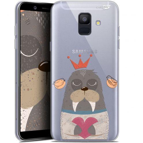 """Coque Gel Samsung Galaxy A6 2018 (5.45"""") Extra Fine Motif -  Sketchy Walrus"""