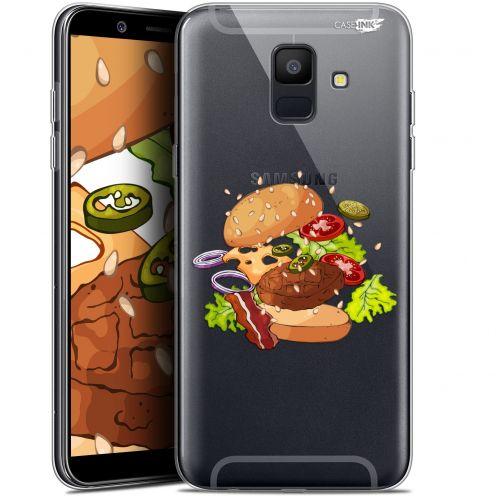 "Coque Gel Samsung Galaxy A6 2018 (5.45"") Extra Fine Motif -  Splash Burger"