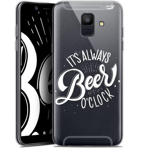 "Coque Gel Samsung Galaxy A6 2018 (5.45"") Extra Fine Motif -  Its Beer O'Clock"