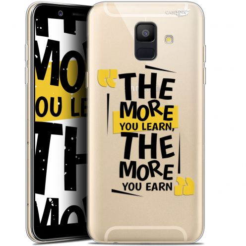 """Coque Gel Samsung Galaxy A6 2018 (5.45"""") Extra Fine Motif -  The More You Learn"""