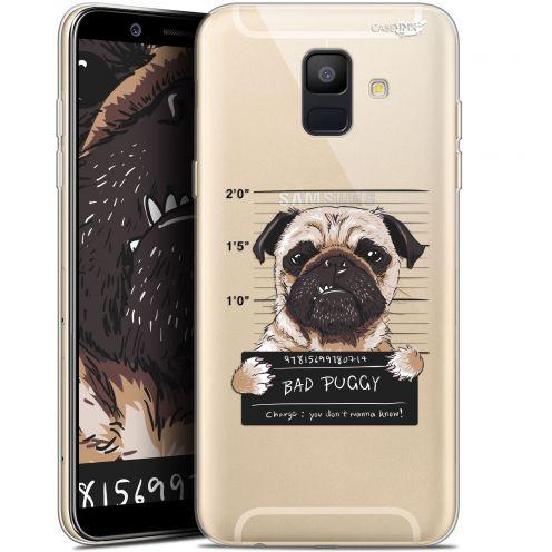 "Coque Gel Samsung Galaxy A6 2018 (5.45"") Extra Fine Motif -  Beware The Puggy Dog"