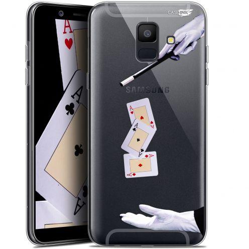 """Coque Gel Samsung Galaxy A6 2018 (5.45"""") Extra Fine Motif -  Cartes Magiques"""