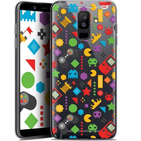 "Coque Gel Samsung Galaxy A6 PLUS 2018 (6"") Extra Fine Motif - PacMan"