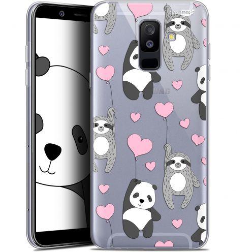 "Coque Gel Samsung Galaxy A6 PLUS 2018 (6"") Extra Fine Motif -  Panda'mour"