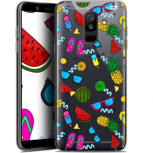 "Coque Gel Samsung Galaxy A6 PLUS 2018 (6"") Extra Fine Motif -  Summers"