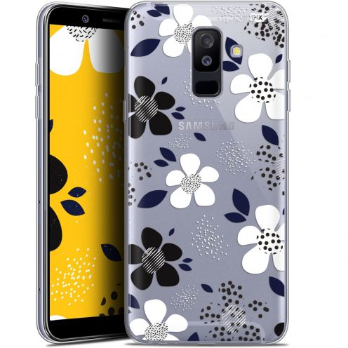 "Coque Gel Samsung Galaxy A6 PLUS 2018 (6"") Extra Fine Motif - Marimeko Style"