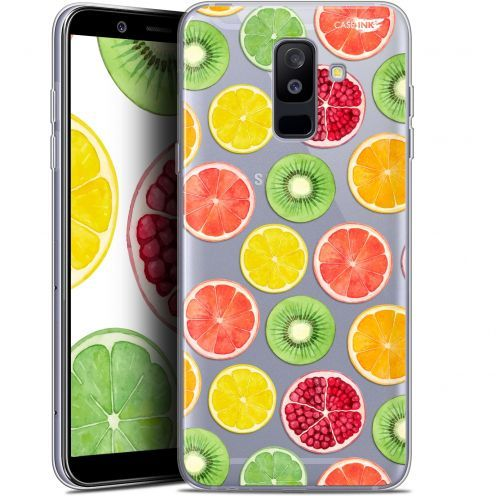 "Coque Gel Samsung Galaxy A6 PLUS 2018 (6"") Extra Fine Motif - Fruity Fresh"