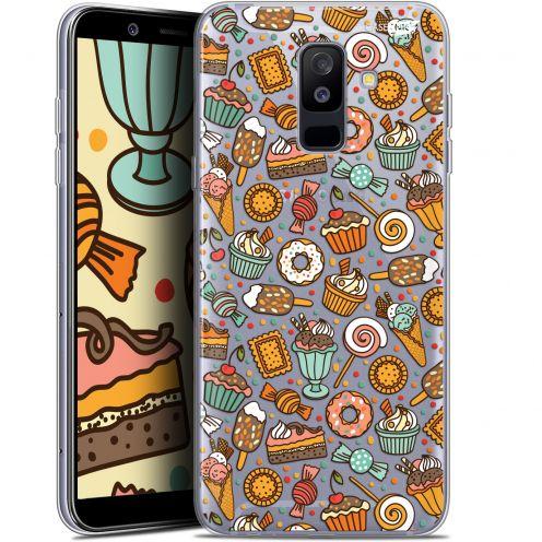 """Coque Gel Samsung Galaxy A6 PLUS 2018 (6"""") Extra Fine Motif -  Bonbons"""