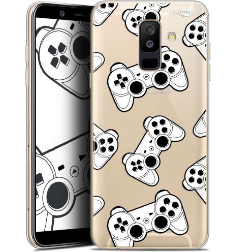 "Coque Gel Samsung Galaxy A6 PLUS 2018 (6"") Extra Fine Motif -  Game Play Joysticks"