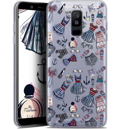 """Coque Gel Samsung Galaxy A6 PLUS 2018 (6"""") Extra Fine Motif -  Fashionista"""