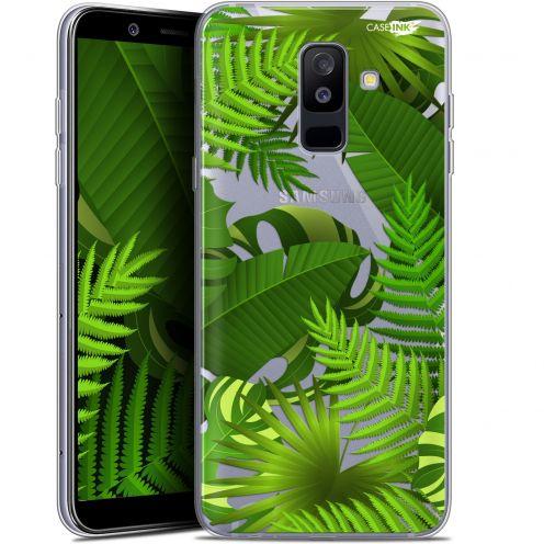 """Coque Gel Samsung Galaxy A6 PLUS 2018 (6"""") Extra Fine Motif -  Plantes des Tropiques"""
