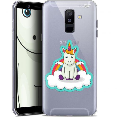 """Coque Gel Samsung Galaxy A6 PLUS 2018 (6"""") Extra Fine Motif -  Bébé Licorne"""