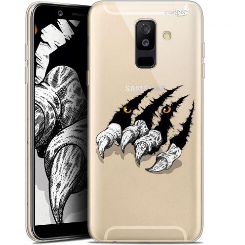 "Coque Gel Samsung Galaxy A6 PLUS 2018 (6"") Extra Fine Motif -  Les Griffes"
