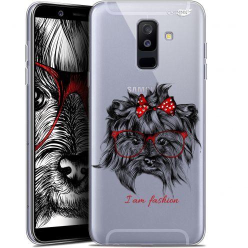 """Coque Gel Samsung Galaxy A6 PLUS 2018 (6"""") Extra Fine Motif - Fashion Dog"""