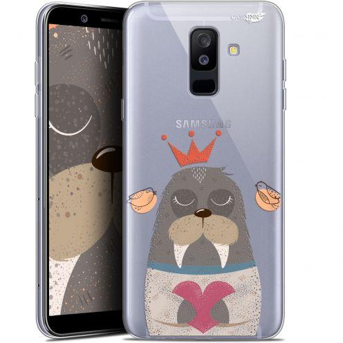 "Coque Gel Samsung Galaxy A6 PLUS 2018 (6"") Extra Fine Motif -  Sketchy Walrus"