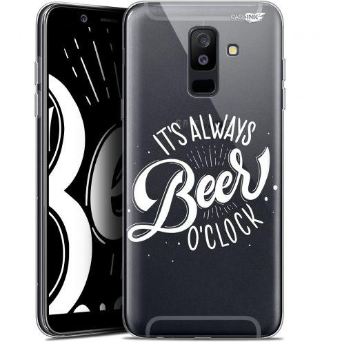 "Coque Gel Samsung Galaxy A6 PLUS 2018 (6"") Extra Fine Motif -  Its Beer O'Clock"