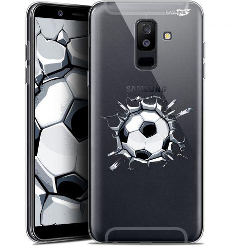 """Coque Gel Samsung Galaxy A6 PLUS 2018 (6"""") Extra Fine Motif - Le Balon de Foot"""